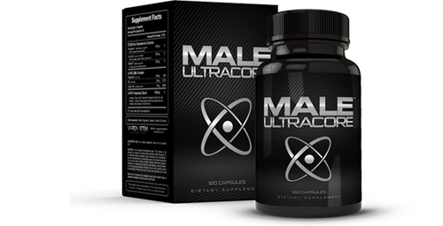 Male UltraCore Pills Box and Bottle
